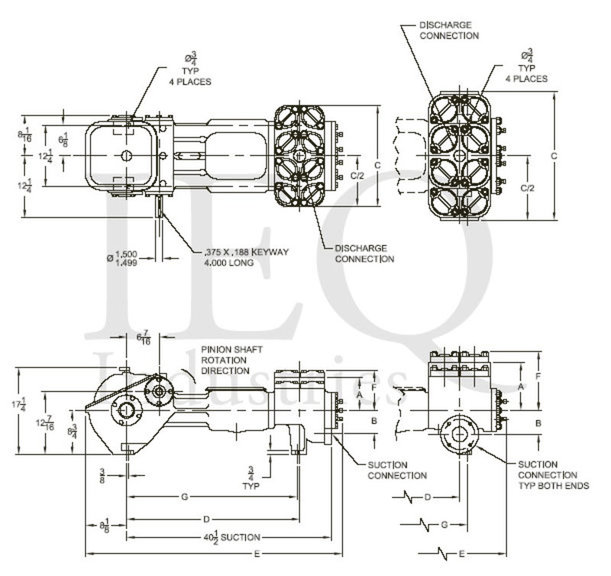 545, Duplex, Piston Pump (Mud Pump)