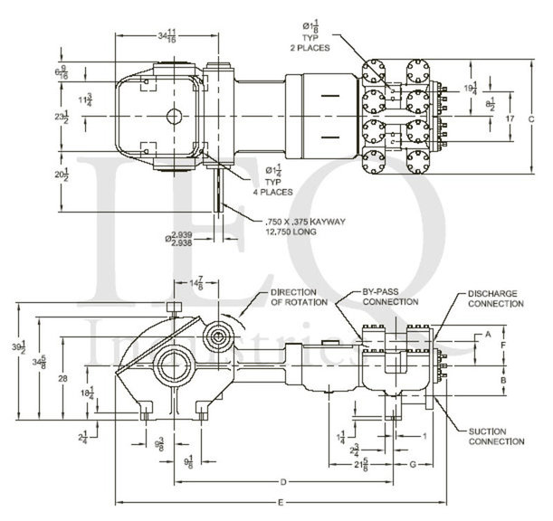 1759, Duplex, Piston Pump (Mud Pump)