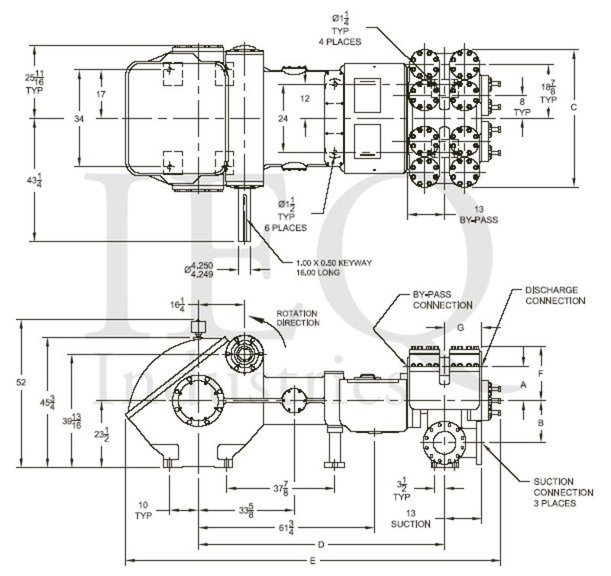 2652, Duplex, Piston Pump (Mud Pump)